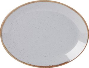 STONE OVAL PLATE 30CM – PACK OF 6