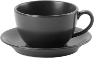 GRAPHITE BOWL CUP 25CL – PACK OF 6