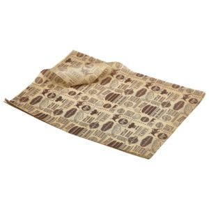 Greaseproof Paper Steak House Design 25x35cm (1000 shts)