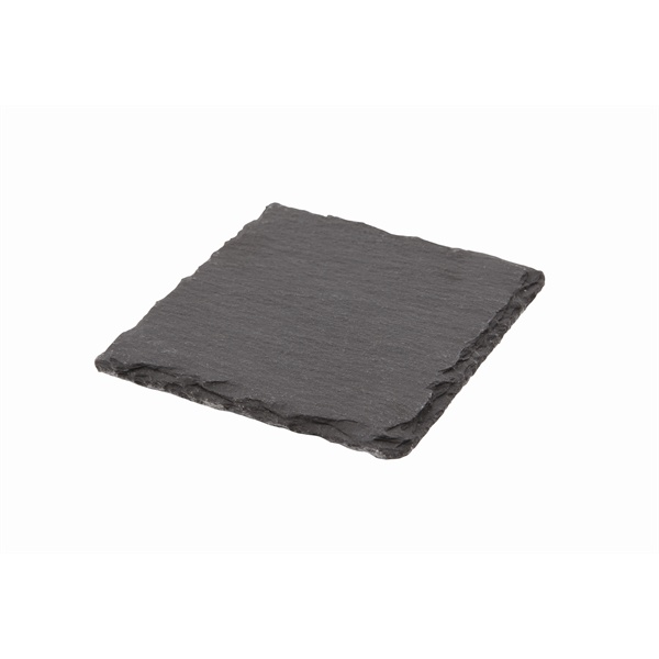 Natural Edge Slate Platter 10 X 10cm – Pack of 12