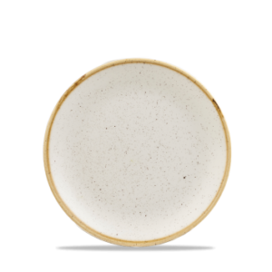 Stonecast Coupe Plate – 6.5″ Barley White – Pack of 12