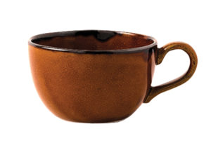 Dudson Harvest Brown Teacup 7.5oz – Pack of 36