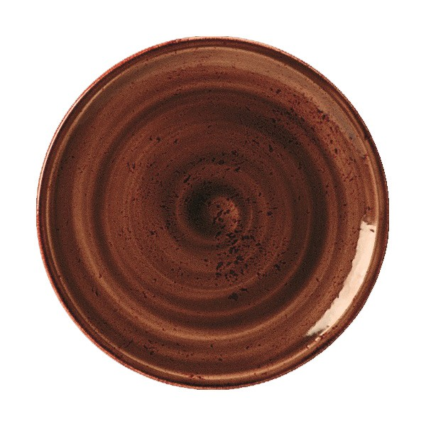 Craft Plate Coupe 6″ Terracotta – Pack of 36