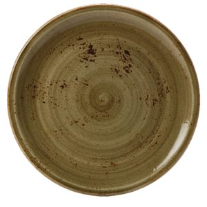 "Craft Coupe Bowl - 10"" / 25.5cm Brown - Pack of 12 - 9.88 Each"
