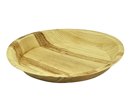 Palm Leaf 6″ Round Plate – Pack of 100