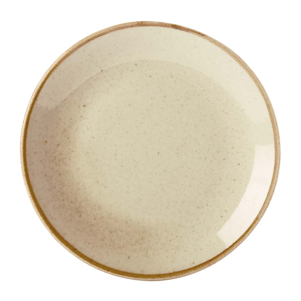 Wheat Coupe Plate 30cm Pack of 6