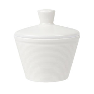 Line Lidded Sugar Bowl 25cl - Pack of 6