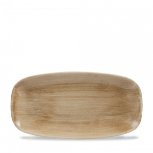Patina Antique Taupe Chefs' Oblong Plate 29.8cm x 15.3cm – Pack of 12