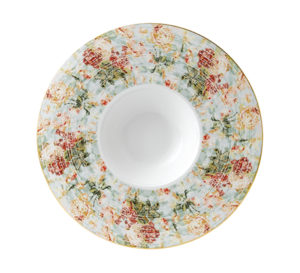 Floral Deep Plate 29.7cm 5″ Well – Pack of 12