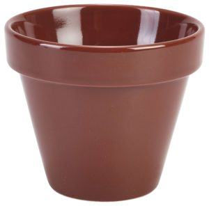RG Plant Pot 11.5 x 9.5cm 50cl/17.5oz - Pack of 4