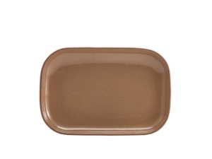 Terra Stoneware Rustic Brown Rectangular Plate 29 x 19.5cm - Pack of 6