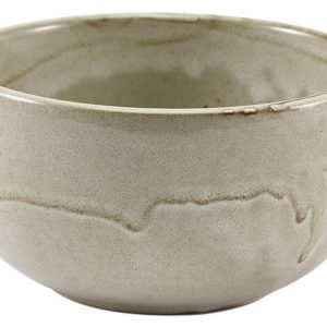 Terra Porcelain Grey Round Bowl 11.5cm - Pack of 6