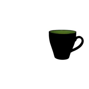 Kyoto Green Coffee Cup 14cl / 5oz - Pack of 12