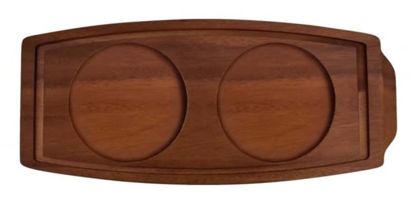 Presentation Acacia Wood Board 34x15.5x23cm - Pack of 6