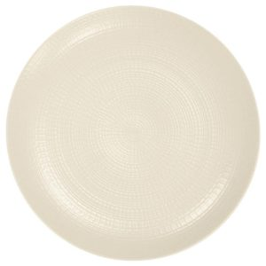 Modulo Nature Kaolin round Dinner Plate Coupe 28cm – Pack of 6