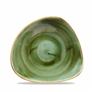 Stonecast Samphire Green Triangle Bowl 23.5cm 21.1oz – Pack of 12