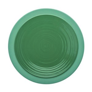 Bahia Argile Verte round Dinner Plate 23cm – Pack of 6