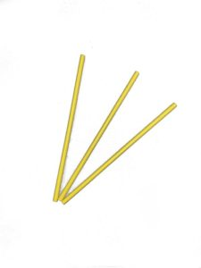 Biodegradable Yellow Paper Straws 20cm – Pack of 3700