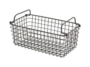 Wire Display Basket Black 31.3 x 25.3cm